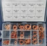 Набор медных шайб 15 рамеров  (150 предметов)