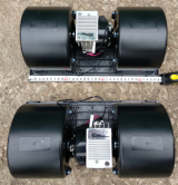 006-B39-22 Вентилятор отопителя 3-х скоростной 24V