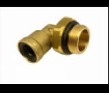 9502 6-M22X1,5 Фитинг трубки ПВХ,полиамид d=6мм (наружная резьба) М22х1.5 угольник латунь CAMOZZI